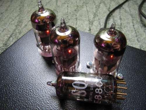 USB s hangeszköz, OTL csöves fejhallgató erősítővel LOGOUT